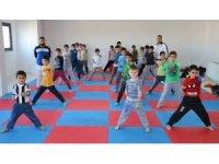 Miniklerden karate kursuna yoğun ilgi