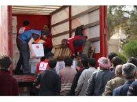 TSK ve AFAD insanı yardım için Afrin'de