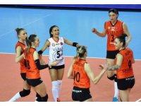CEV Kadınlar Kupası: Eczacıbaşı VitrA: 3 - Palmberg Schwerin: 0