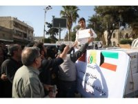 Sadakataşı'ndan Afrin kent merkezine insani yardım