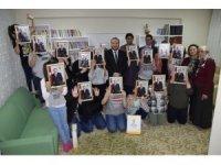 Çocukların Cumhurbaşkanı sevinci