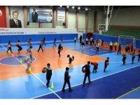 Nevşehir'de geleceğin basketbolcuları yetişiyor
