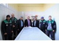 Başiskele Belediyesi'nde ilgili personele cenaze eğitimi verildi