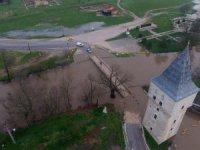 Tunca Nehri'nin debisi yine yükselmeye başladı