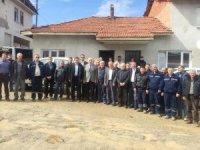 Başkan Musa Yılmaz, Hisarcık'taki yol çalışmalarını inceledi