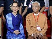 Myanmar Devlet Başkanı Htin Kyaw istifa etti