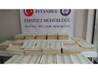 İstanbul'da sahte para basılan matbaaya baskın: 7 milyon lira sahte para ele geçirildi