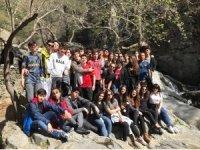 Değişimli gençler Kaz Dağları'nın keyfini çıkardı