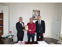 Mehmetçik Vakfı'ndan Bandırmaspor'a teşekkür plaketi