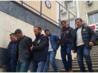 Tantanacılık yöntemiyle 100 bin lira çalan şüpheliler yakalandı