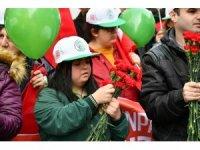 Gaziosmanpaşa'da down sendromlu çocuklar yürüyüş yaptı
