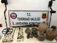 Tekirdağ'da tarihi eser operasyonu: 1 gözaltı