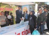 Elazığ'da 5 bin  fidan dağıtıldı