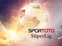 Spor Toto Süper Lig'de 5 haftanın programı belli oldu