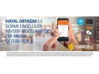 """Kayseri Meysu Outlet'te engeller """"Turkcell Hayal Ortağım"""" ile kalktı"""