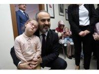 Büyükşehir'den 'down sendromlu' çocuklara destek