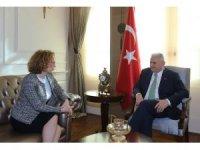 Başbakan Yıldırım Makedonya Savunma Bakanı Shekerinska'yı kabul etti