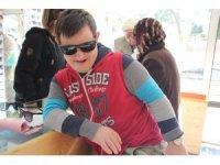 Down sendromlu çocukların mutlu günü