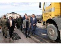 Köy yollarında hedef 200 kilometre sıcak asfalt