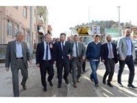 AK Parti il yönetimi Yığılca ilçesinde sıcak ilgi
