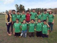 Foça'da okulları futbol turnuvası başladı