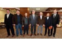 Başkan Karaosmanoğlu'na ziyaretler sürüyor