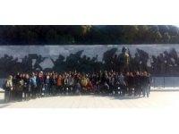 Karşıyakalı gençler, Çanakkale ruhunu yaşadı