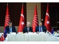 Kılıçdaroğlu, AB üyesi ülkelerin büyükelçileriyle bir araya geldi