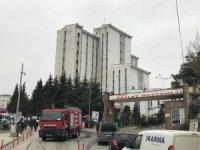 Ordu Devlet Hastanesinde yangın paniği