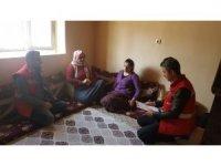 Şehit aileleriyle gazilere ziyaret