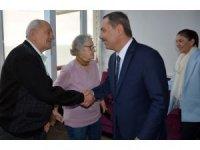 Başkan Uysal, huzurevi sakinlerini ziyaret etti