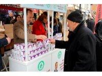 Edirne'de 10 bin kutu kandil simidi ikramı