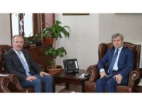 Rektör Uzun'dan Vali Çınar'a ziyaret