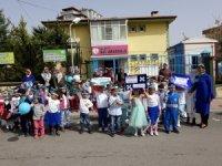 Minik öğrencilerden Dünya Su Günü etkinliği