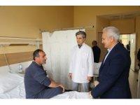 Başkan Başsoy Kandilde hastaları unutmadı