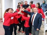 Marmaraereğlisi Belediyespor'dan Başkan İbrahim Uyan'a ziyaret