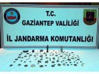 Gaziantep'te tarihi eser kaçakçılarına operasyon