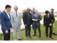 Cumhurbaşkanının Baba Halisdemir'e gönderdiği tohum toprakla buluştu