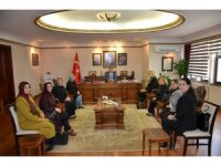 AK Parti Kadın Kollarından Vali Çeber'e ziyaret