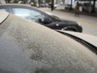 Başkentte toz taşınımı etkili oldu