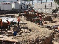 İnşaat kazısında Geç Roma dönemine ait mekanlar bulundu
