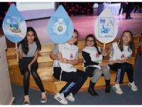 Öğrencilere bilinçli su tüketimi eğitimi