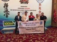Budokaido Kyokushın Ashıhara Şampiyonası'nda Pursaklar 3 madalya kazandı