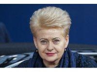 """Litvanya Devlet Başkanı Grybauskaite: """"AB ülkeleri Rusya'ya karşı tedbirler alacak"""""""