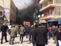 Konya'da yangında dumandan etkilenen 2 kişi hastaneye kaldırıldı