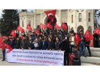 Üniversite öğrencilerinden teröre karşı ortak basın açıklaması