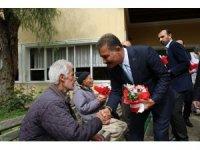 Başkan Tuna yaşlıları unutmadı