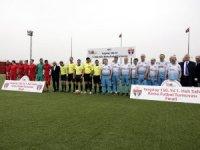 Yargıtay Başkanı Cirit, Türkiye Milli Ampute Futbol Takımı ile maç yaptı