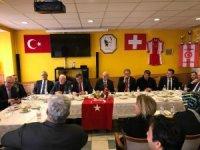 TBMM heyeti, Lozan Türk Birliği'ni ziyaret etti