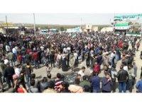 Suriyelilerden TSK'ya Tel Rıfat desteği